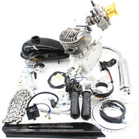 2020High performance racing gasoline powered motorized DIO reed valve 80cc gas bicycle engine kit
