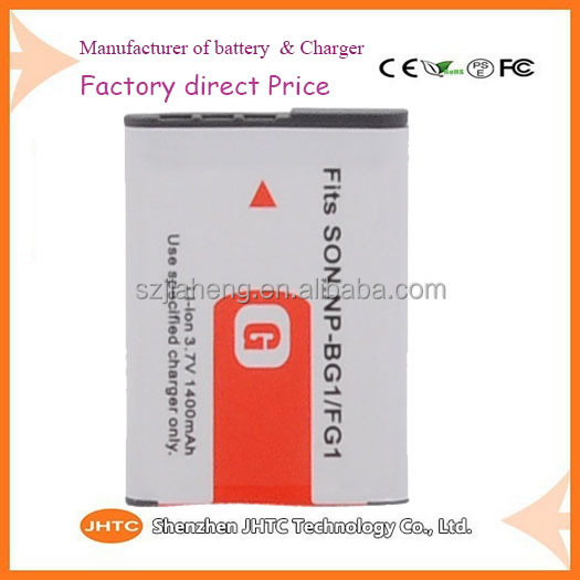 Cheapest Wholesale price Lithium Ion Camera Battery for Sony G Type NPBG1 NP-BG1