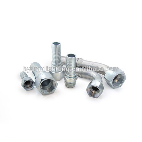 Hydraulic female high pressure threaded steel pipe fitting