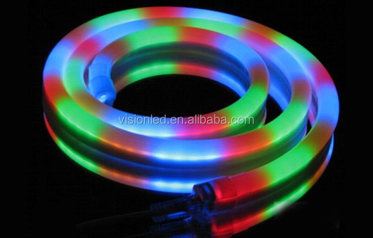 Indoor Outdoor Rgb Led Neon Flex Rope Light 12v/24v/110v/220v ...