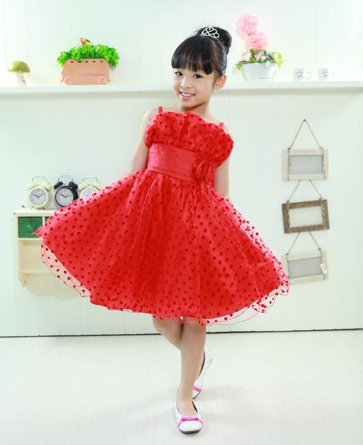 efc9c992841f9 أطفال بنات فساتين السهرة المصنوعة في الصين كبيرة ملفوفة الصدر اللباس للحزب  وليمة المستخدمة