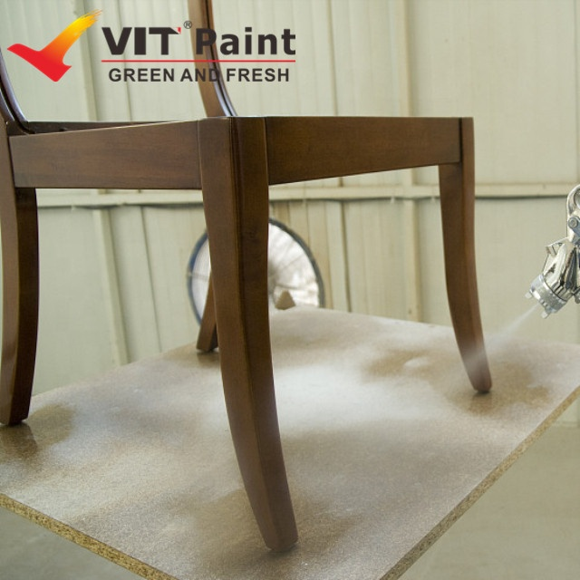 Vit Best Paint For Painting Wood Furniture Clear Coat For Outdoor Wood Furniture Top Coat Wood Finish Buy Pu Base Anti Scratch Colored Wood