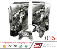 2017 New Car Decal for Microsoft Skin Cover For Xbox 3602 Fat Game Console Sticker