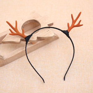 Original Design Cosplay Pops Cute Little Deer Horn Headwear Korean Style Christmas Antlers Head Band Party Supplies