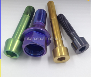 titanium bolts for bicycle, industry, motorcycle titanium machined parts