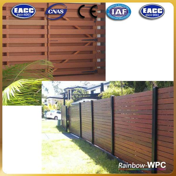 wpc factory wpc fencewpc panelwood plastic composite fence panels