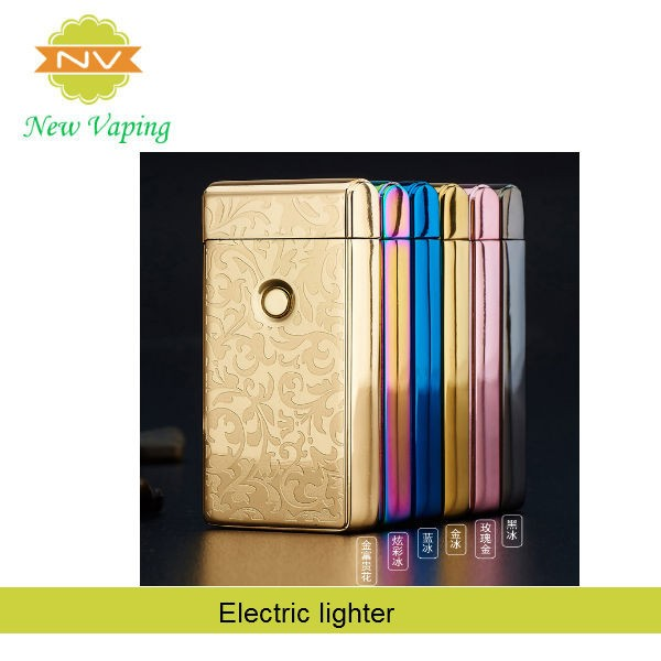 Newest arrival cigarette lighters wholesale rechargeable electric dual arc usb lighter