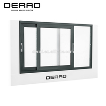 China Manufacturer Australian standard Sliding Glass Window