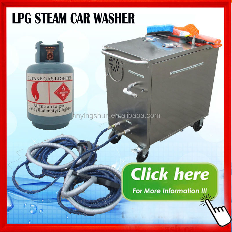2015 Ce 18bar High Pressure Diesel Vapor Commercial Steam Cleaners