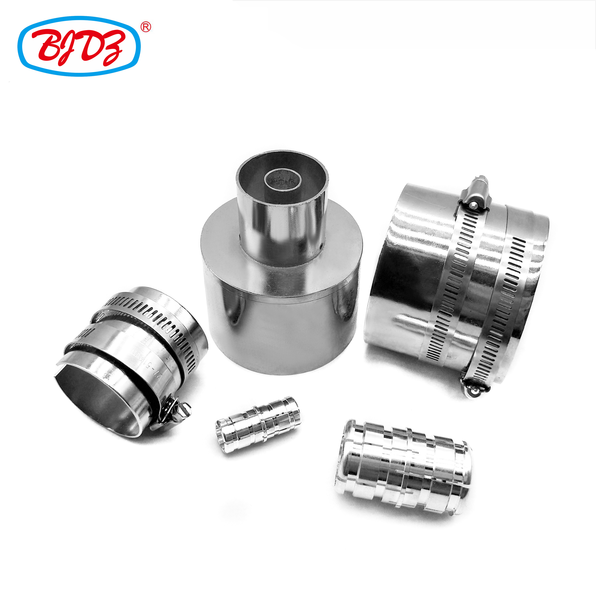 RF coaxial connector adapter 1-3/8 EIA to 1-5/8 EIA flange adapter eia flange connector for solid feeder cable