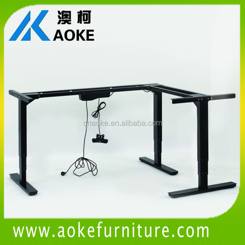 Used Height Adjule Desk Design Ideas Electric Lifting Table Frame