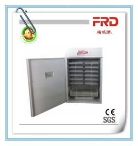Long service time high capacity 1000 egg incubator,FRD-1232 electric chicken egg incubator hatching machine