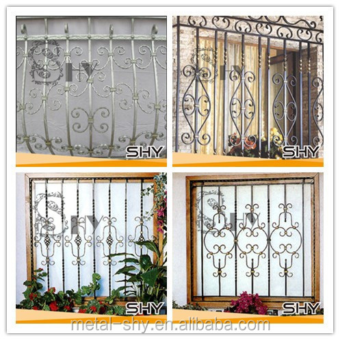 Hot Sales & New Designs Simple Iron Window Grills
