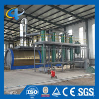 Latest Technology Pyrolysis Oil Refining System