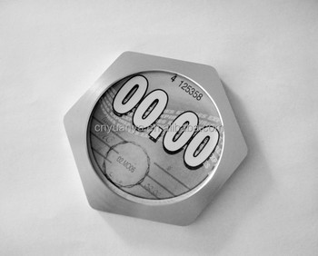 Car Tax Disc Holder , Hexangular Tax Disk Holder