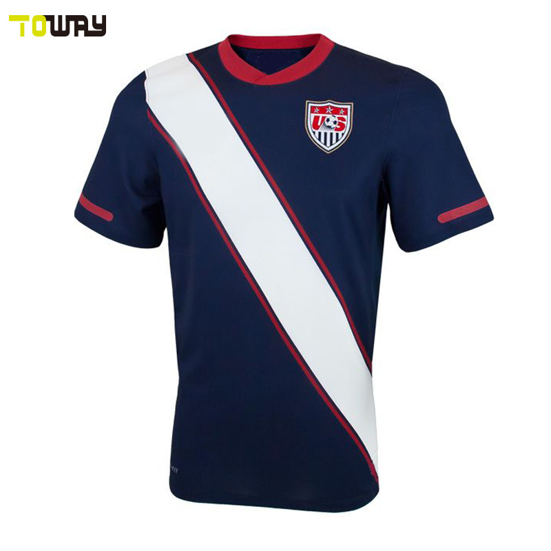 wholesale plain usa soccer jersey kids