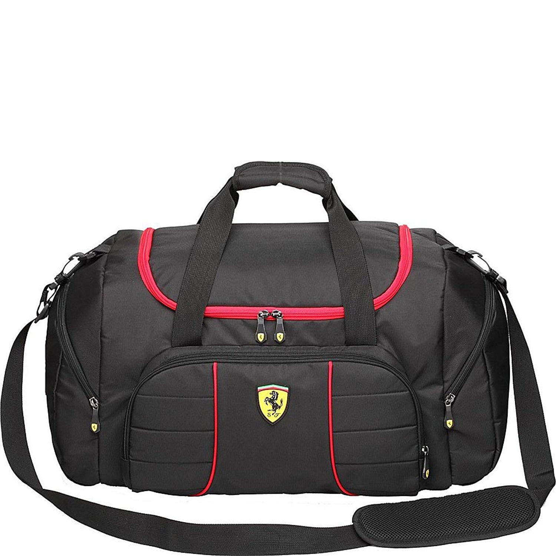 df58a0d596 Get Quotations · Ferrari Casuals Overnight Bag