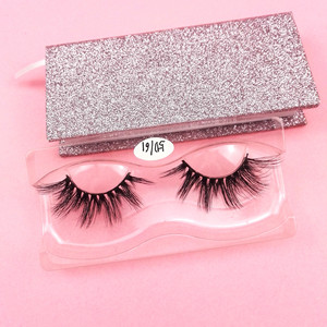Custom eyelash packaging Premium mink lashes private label 3d mink eyelashes