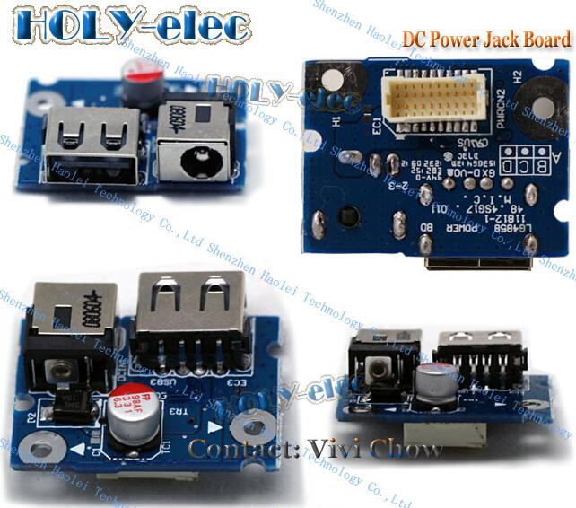 DC Power Jack Socket USB Port Blue Board For Lenovo G480 G580 OEM NEW
