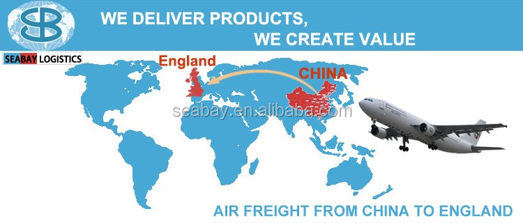 Air freight services shipping from shenzhen shanghai to uk