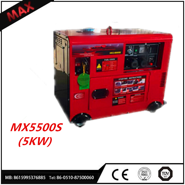 HOT! CE Approved 5kva Diesel Generator Set And Open Silent Type Is Available