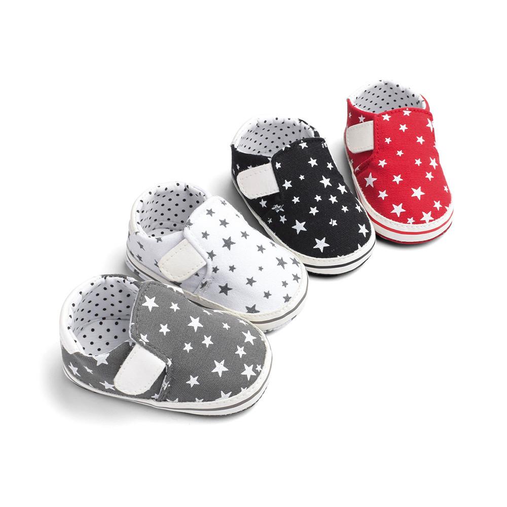 90f04a72f5da5 Acheter Nouveau Né Bébé Chaussures Bébés Fille Garçon Étoile ...
