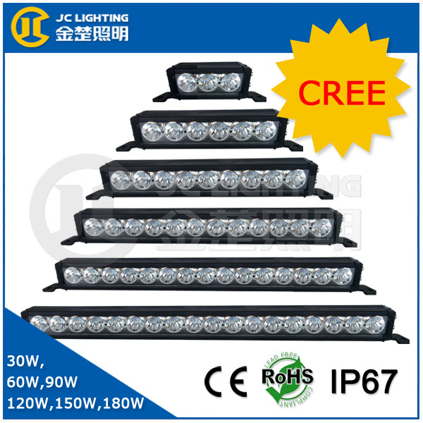 Made In China Factory Single Row Cree Offroad Led Light Bar For ...