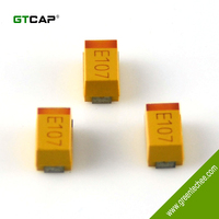 GTCAP SMD/ Chip tantalum capacitor 106 16V solid type RoHS compliant