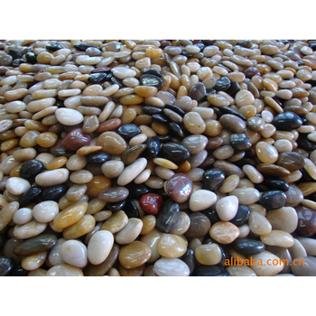 landscaping pebbles mix color polished pebble stone
