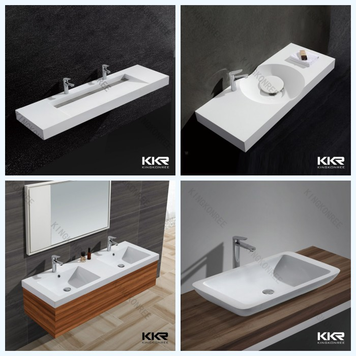 Wholesale Solid Surface Trough Sink With Slope