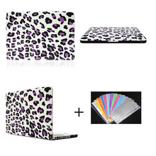 purple leopard PC hard case for macbook pro 13.3 , for macbook cover case