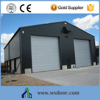 Warehouse Sliding Gate Steel Rolling Door Industrial Windproof Rolling Door