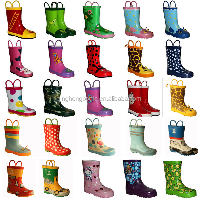 2014 Fancy And Most Popular Wholesale Kid Rubber Boots - Buy Kid ...