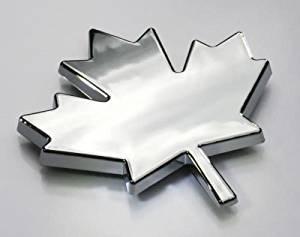 Car Chrome Decals CNPL-MAPLE Maple Leaf Canada car auto bike chrome decal toronto