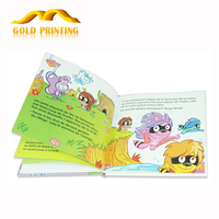Full color hardcover English story books printing for children