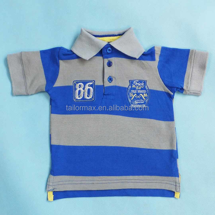 Mode Lager viele, kinder bekleidung Kinder Polo Hemd closeout140903c