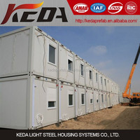 Construction Site Temporary Office Container House in Saudi Arabia