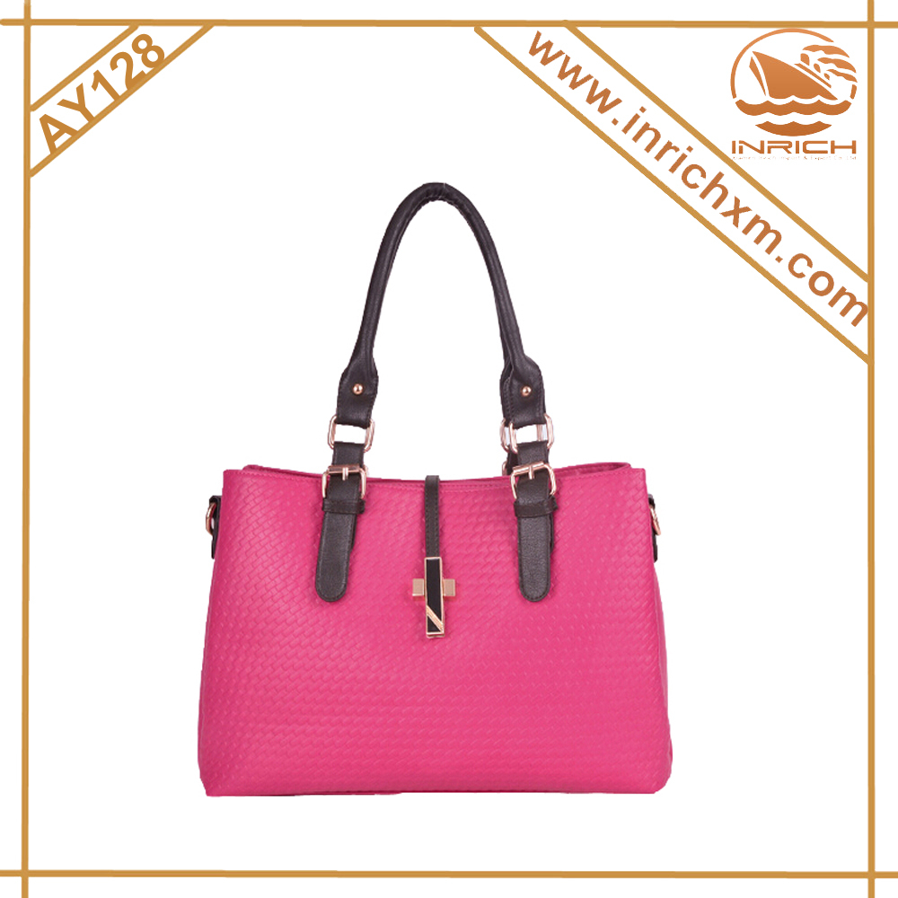 Fashion Lady's Daily Use PU Handbag