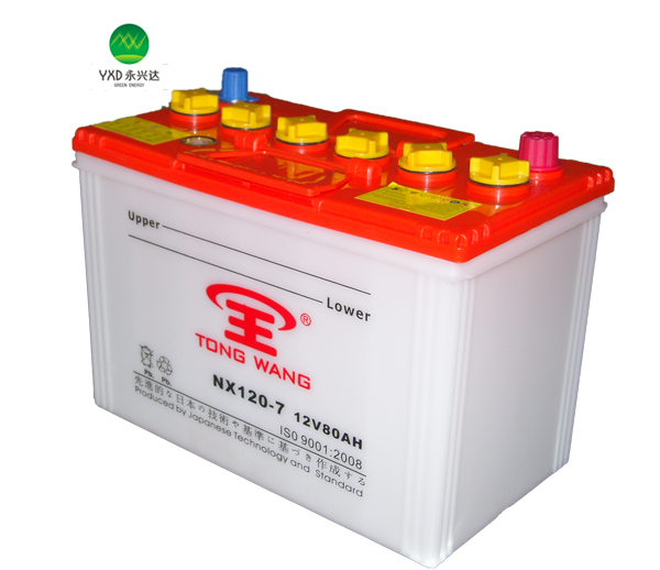 12V lead acid dry charged car battery Automotive batteries