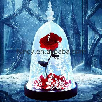 Best Valentines Day Gift Preserved Flower Beauty And The Beast Enchanted Rose Buy Preserved Rose Flower Enchanted Rose Beauty And The Beast Rose Product On Alibaba Com