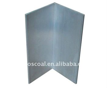 Aluminium Angle Profile with anodizing and CNC machining