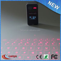 Small wireless bluetooth silicon keyboard
