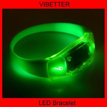 Led Flashing Glow Bracelet Bangle [battery Operated; Glow Bracelet ...