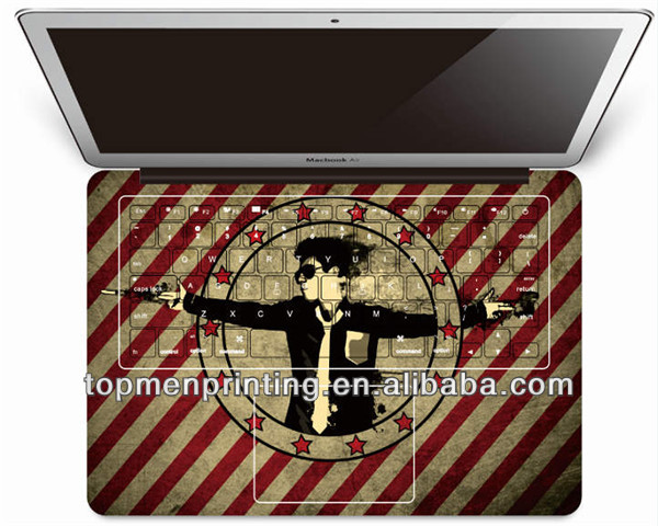 "Manufacturer price Palm Guard Wrist Skin Protector Sticker Cover For MacBook Pro 15"" skin for macbook"