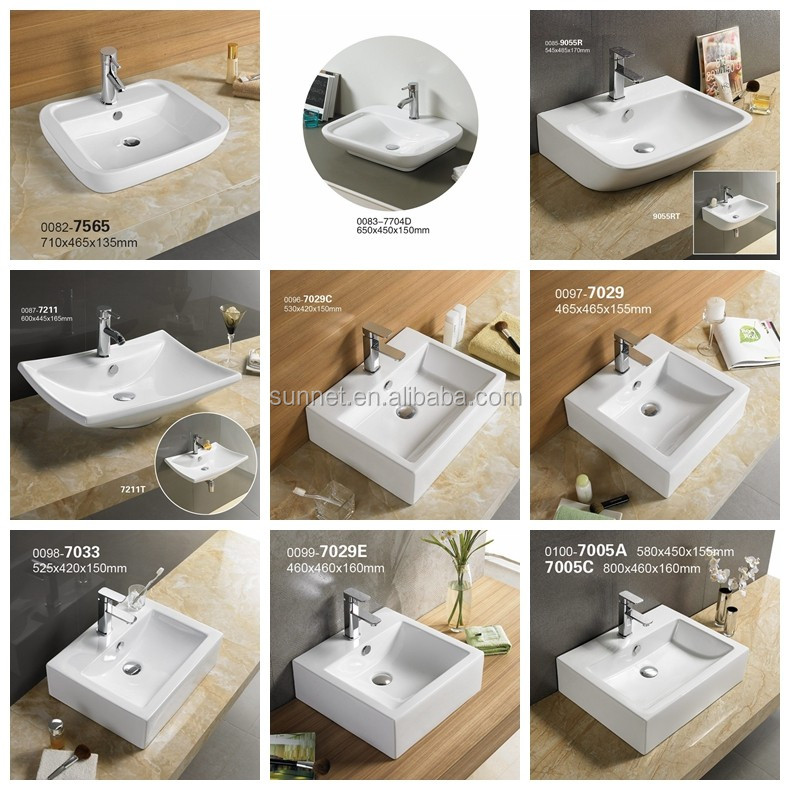7747rectangle Series Modern Bathroom Design,Quality Above Counter ...