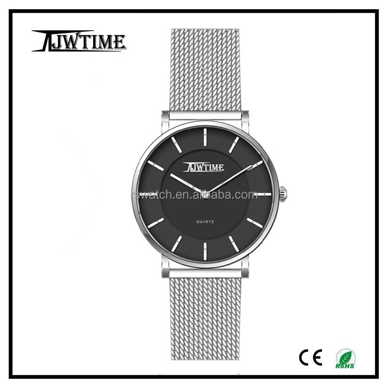 3atm water resistant quartz watch aliexpress china custom watch dial ,lady mesh band