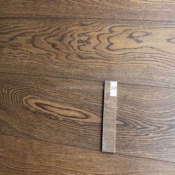 Oak Engineered Wood Flooring With Stained Mink Grey Buy Wood