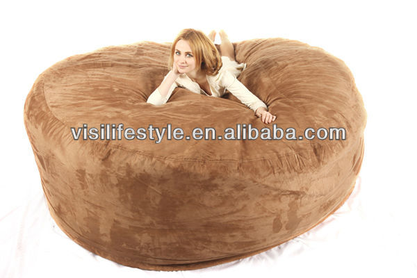 XXXL 8FT Comfortable 4 6 Seaters Foam Filled Bean Bag Sofa