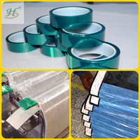 Single side PET silicone coating tape for car painting