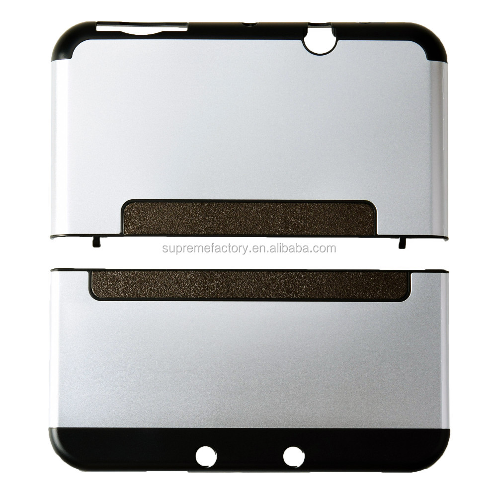Dustproof Aluminum Metal Protect Case Cover Shell for Nintendo New 3DS XL Silver